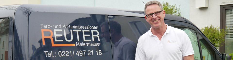 Ralf Reuter, Malermeister in Köln - Qualität von Meisterhand für Farb- und Wohnimpressionen